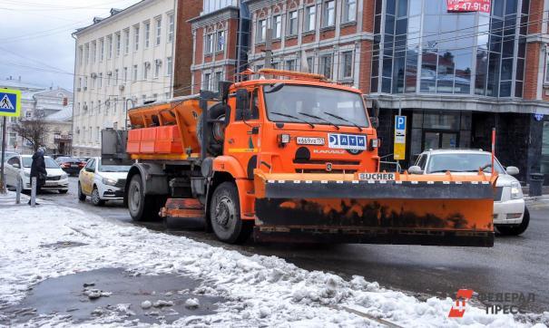 Зимнее содержание дорог началось 15 октября