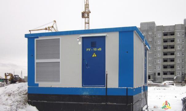 Энергетики освободили место под парковку в новом квартале Нижневартовска