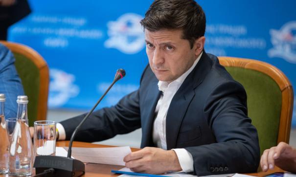 Зеленский Владимир Александрович, президент Украины