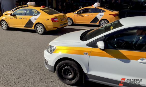 Защитные экраны в такси по требованию Куйвашева?