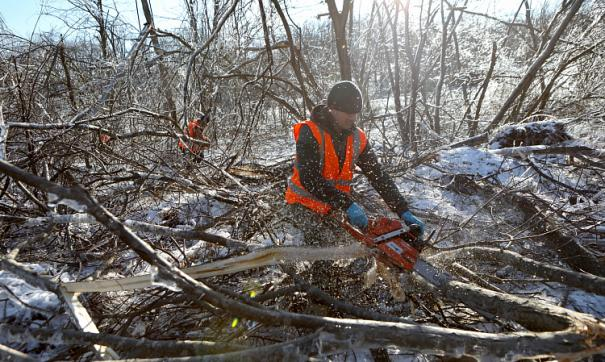 В Приморье до сих пор не справились с последствиями ледяной бури