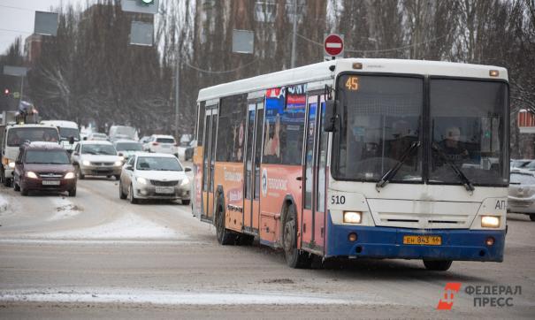 В Новосибирске за ткущий год произошло около 30 аварий с участием общественного транспорта