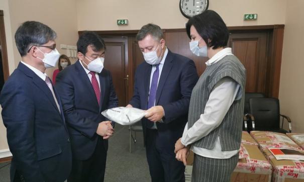 Гуманитарную помощь  направят в Иркутскую городскую клиническую больницу