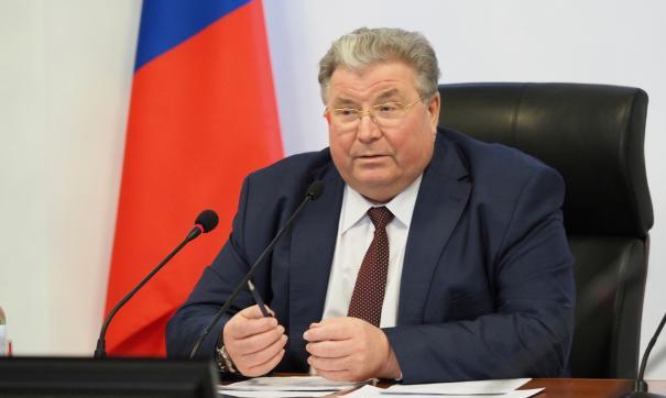 Глава Мордовии Владимир Волков уходит в отставку