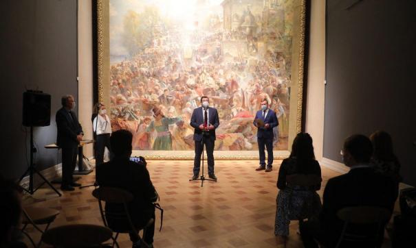 Губернатор Глеб Никитин открыл обновленную экспозицию зала Маковского