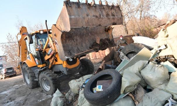 В Подмосковье фотоловушки будут следить за незаконным сбросом мусора