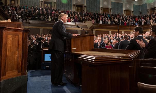Дональд Трамп в сенате