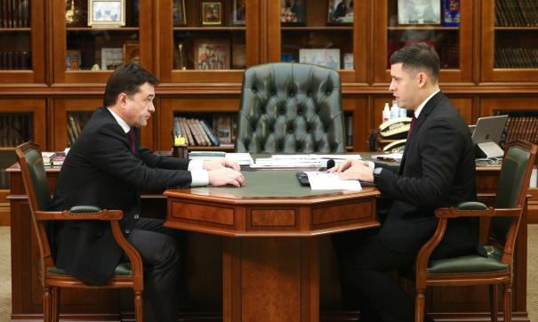 Губернатор прибыл в муниципалитет с рабочим визитом