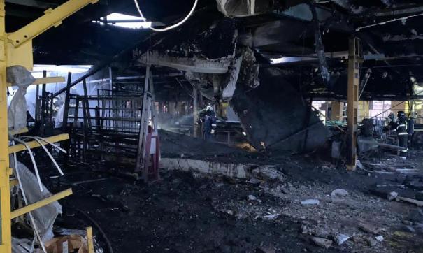 Причиной могло стать возгорание в газовой котельной