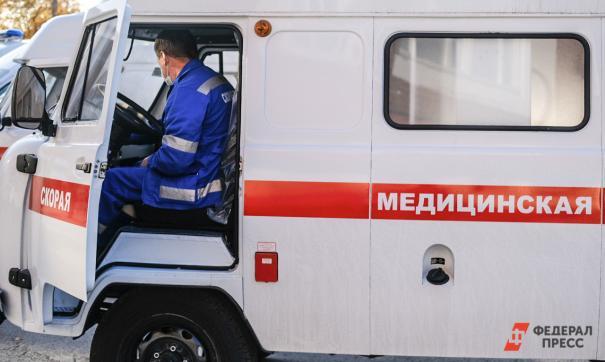 Дети с ожогами доставлены в больницу