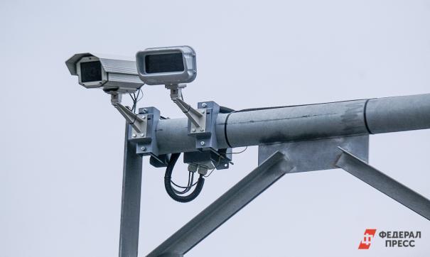 На дорогах Екатеринбурга установили 13 камер фиксации скорости