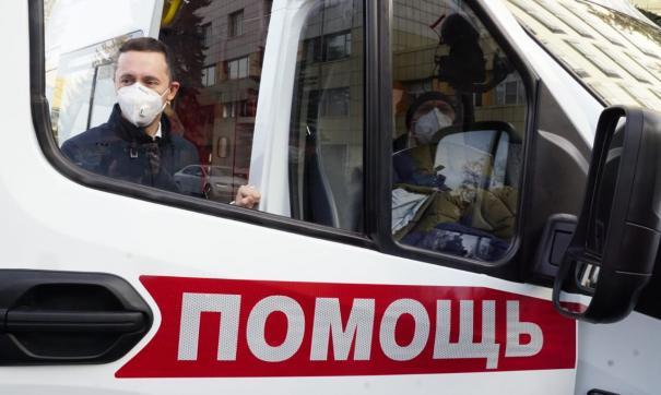 15 автомобилей скорой медицинской помощи передали ЦРБ