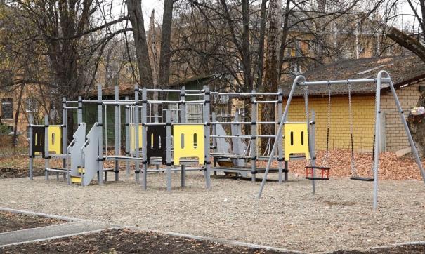 В Сарове установили детские площадки и благоустраивали территории