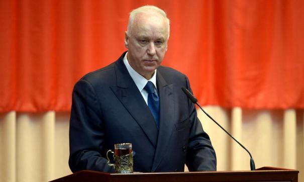 Александр Бастрыкин высказал претензию свердловскому главку СКР
