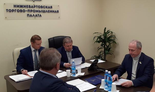В Нижневартовске выбрали председателя совета торгово-промышленной палаты