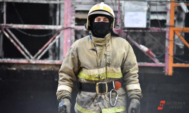 Возгорание произошло в Железнодорожном районе, в здании фабрики «Русь»