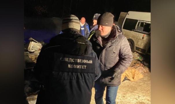 Расследование ДТП с микроавтобусом под Самарой передано в центральный аппарат СК
