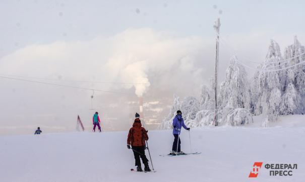 Посетители курорта смогут вернуться к заездам после потепления