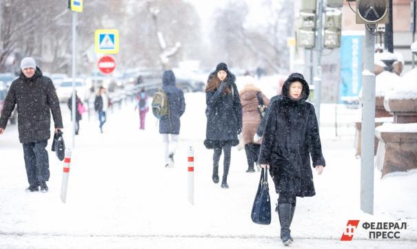 Сильные морозы покинут Средний Урал уже в пятницу