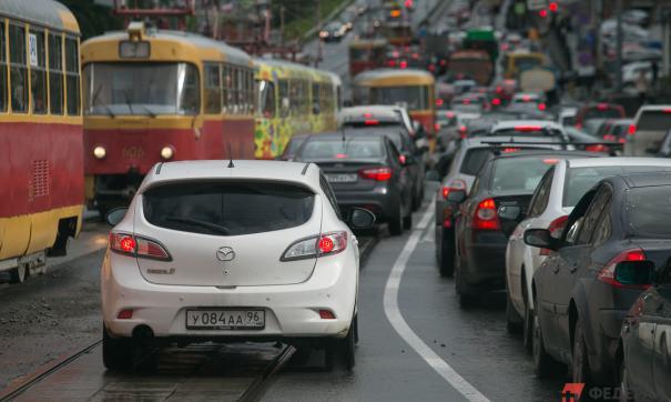В Екатеринбурге предупреждают о больших пробках на Сибирском тракте