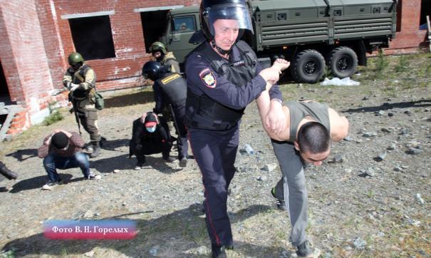 В Екатеринбурге в центре временного содержания граждан пресекли дебош