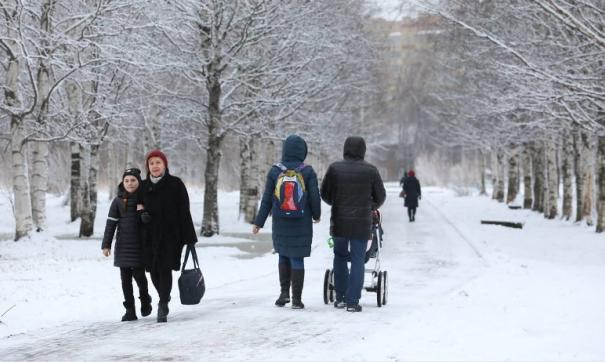 Зимний Архангельск