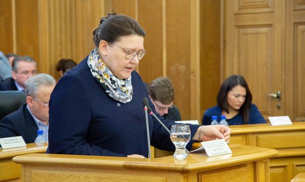 Марина Андрусь была назначена на свой пост в 2018 году