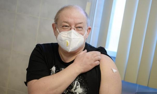 Александр Пантыкин уже получил первый компонент вакцины
