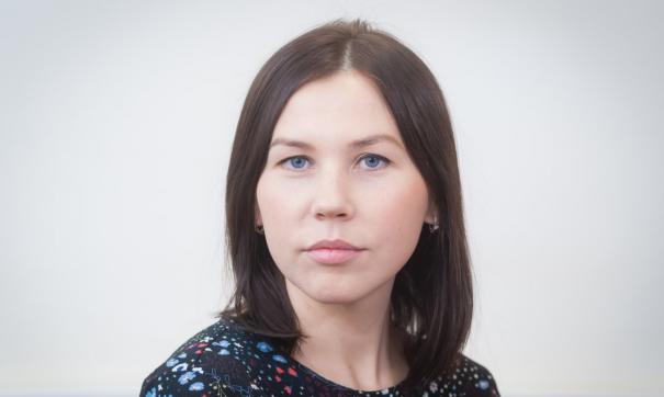 Анна Шкерина работает в департаменте уже семь лет