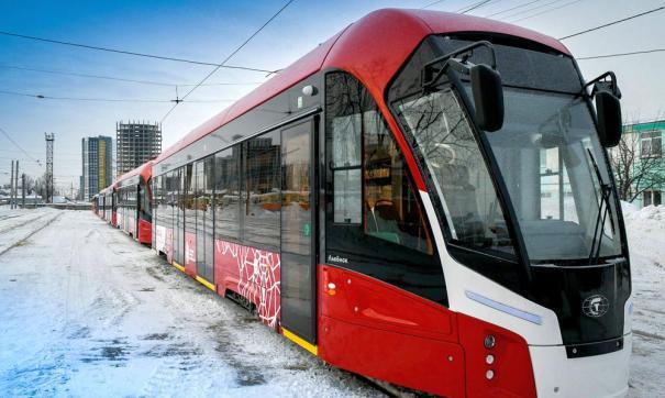 Подвижной состав общественного транспорта планово обновляется