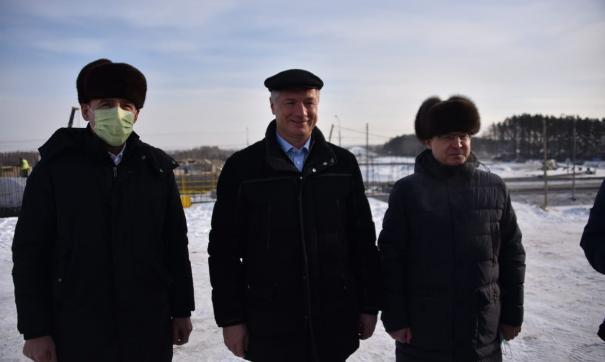 В Екатеринбурге стройку века завершат раньше срока