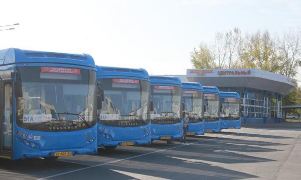 В Новокузнецк едут новые автобусы