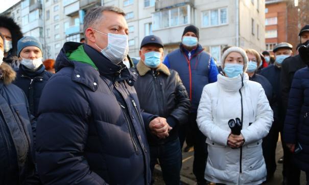 Заявления о строительстве в бывшем ИВВАИУ Суворовского училища, Игорь Кобзев  делал во время своей предвыборной кампании