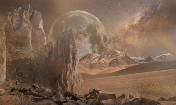 Пейзаж Марса