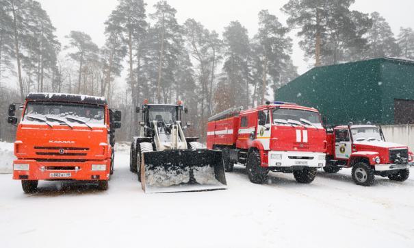 Для лесопожарной службы закуплена новая техника на сумму более 13 млн рублей