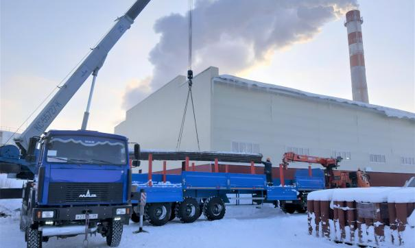 Энергетикам Тарко-Сале доставили материалы для ликвидации ЧП