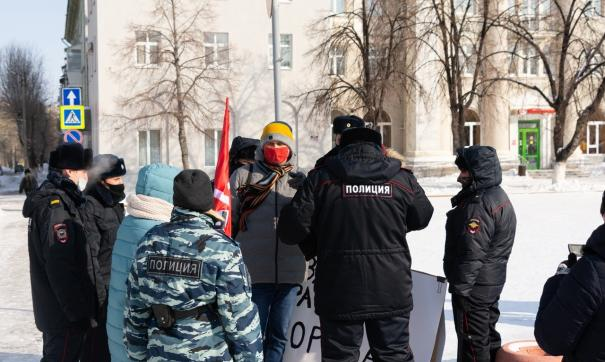 Акция КПРФ в Новокуйбышевске