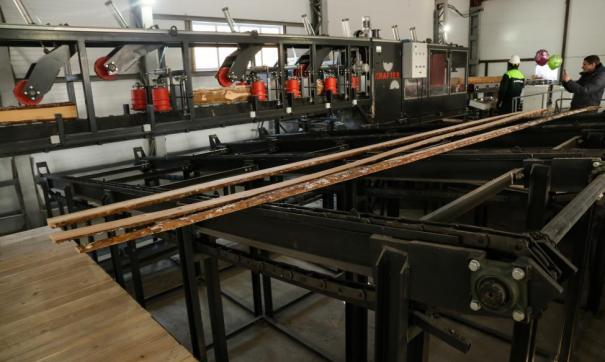 В 2020 году предприятие собственными силами построило лесопильный цех, подстанцию