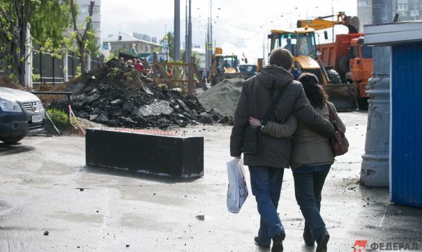 На ремонт дорог Екатеринбурга потратят 1,1 млрд рублей