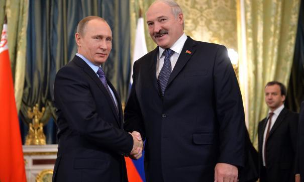 Кремль назвал дату встречи Путина и Лукашенко