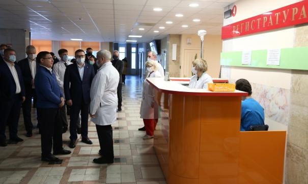 Госпиталь в Озерске построят по секторам