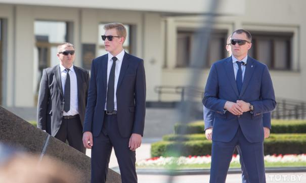 Сын Лукашенко покатался на лыжах с Путиным