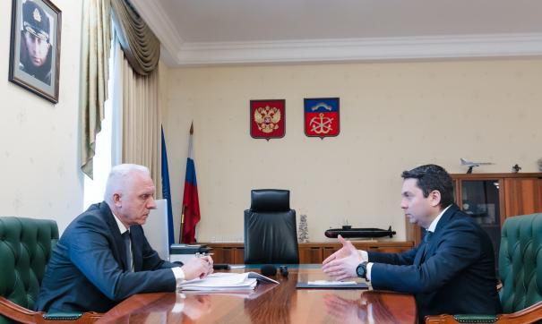 Александр Гуцан и Андрей Чибис