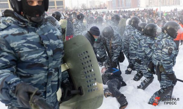 Также полиция сообщает о участии в митингах несовершеннолетних
