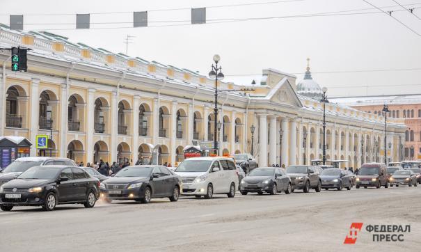 Улица в Петербурге