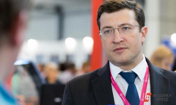 Глава Нижегородской области Глеб Никитин дал большое интервью Тине Канделаки