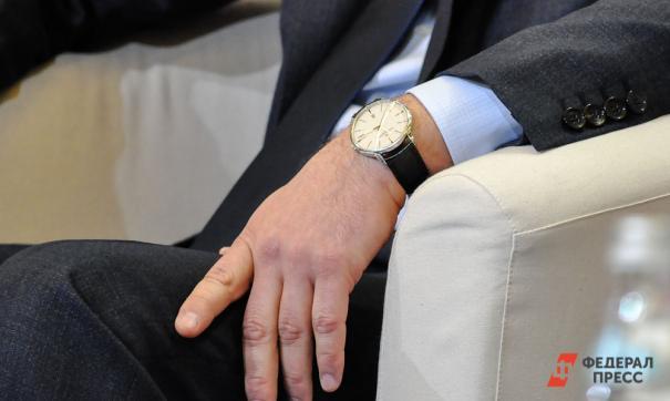 рука с часами