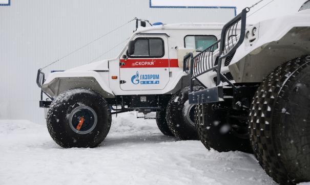 Скорые-вездеходы вышли на дежурство на удаленных месторождениях Томской области