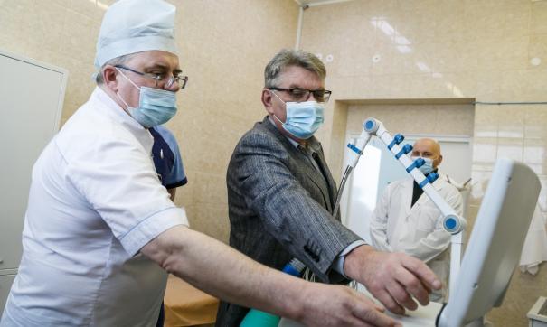 Фонд святой Екатерины приобрел 3 аппарата ИВЛ для ЦГБ №23