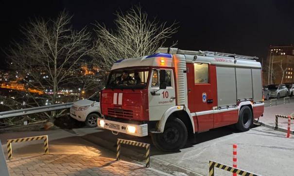 В пожаре погибли двое детей